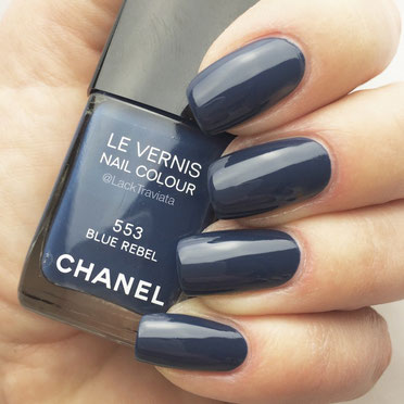 swatch CHANEL BLUE REBEL 553 by LackTraviata