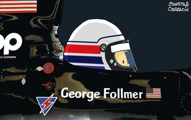 George Follmer by Muneta & Cerracín