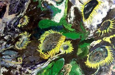 Flowerfields 6 - 2006 - 100 x 150 cm