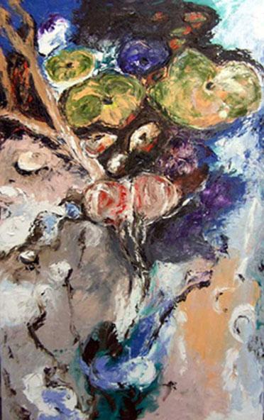 Flowerfields 3 b - 2005 - 160 x 100 cm