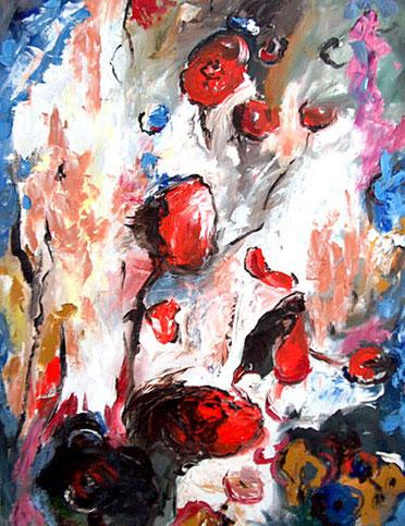 Flowerfields 1- 2005- 130 x 100 cm