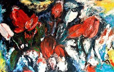 Flowerfields 8 - 2006 - 120 x 190 cm