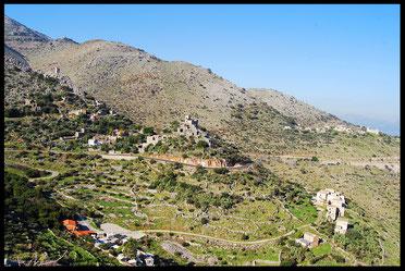 Péloponnèse, Grèce, voyage à vélo