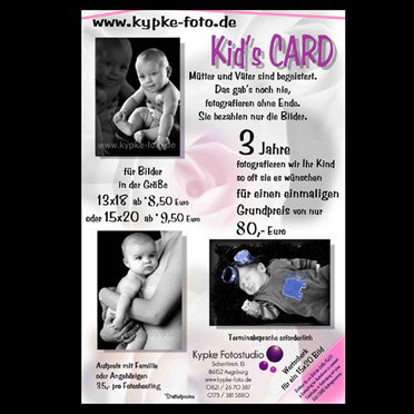 Baby Fotoflat Kids Card