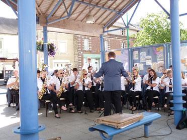 Frankreich Konzert Cerisy la foret Musikverein Jugendlust Scharmede