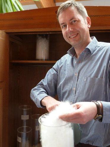 Joachim Römer - Geschäftsführer der Firma Lima-Betten in Günzach