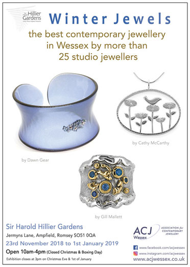 Winter Jewels IV - The best of contemporary jewellery in Wessex