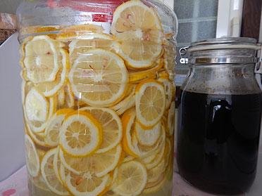 レモンシロップとポン酢