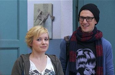 Spaßiges Dreamteam: Emma (Kasia Borek) und Hotte (Dennis Schigiol)
