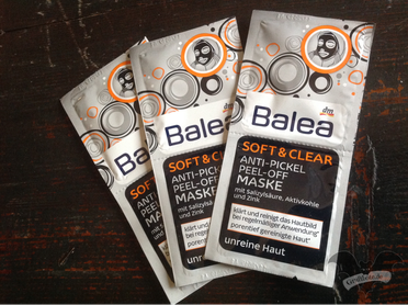 Balea Soft & Clear Anti-Pickel Peel-Off-Maske / Foto: Gothamella