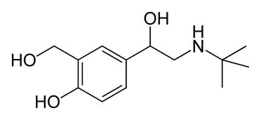 Salbutamol (ventoline)