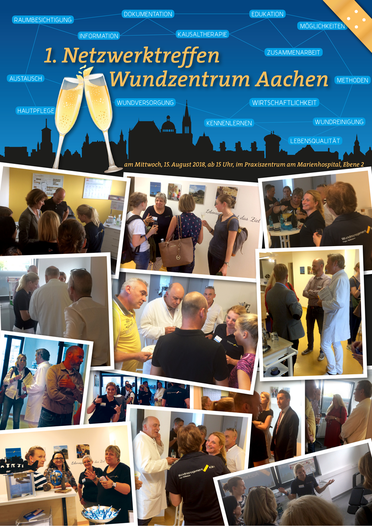 1. Netzwerktreffen Wundzentrum Aachen im Praxiszentrum am Marienhospital Aachen
