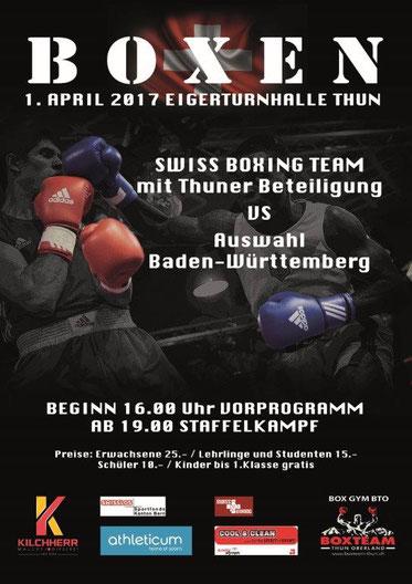 Simon und Swissan (BOXING TEAM ITTIGEN) Amateurboxen (AOB)