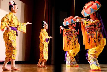 琉球舞踊 四つ竹