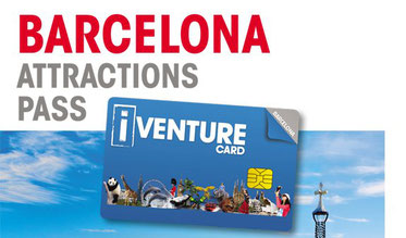 Barcelona Attractions Pass - iVenture Card