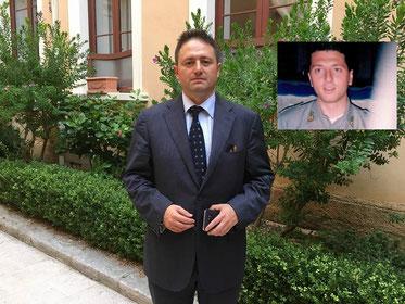 Avvocato Ezio Bonanni e Antonio Dal Cin