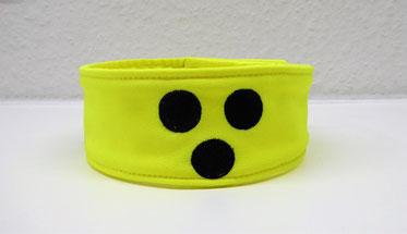 blind dog,Halsband, Loop, Blinder Hund, Blindenhund, Halstuch, Blindenhalstuch