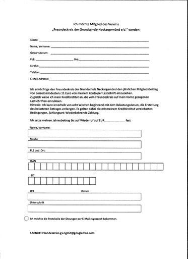 Neue Beitrittserklärung Stand 04/14