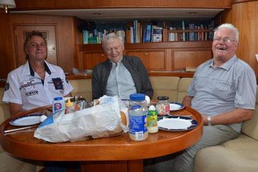 Mischka, Jochen, Werner, Warnemuende, 31. August 2014