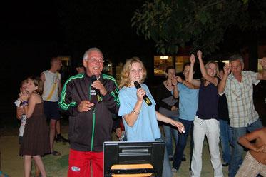 karaoke au camping