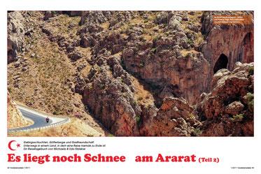 Sundown auf dem Götterberg  Nemrut Dağı im Reich von Kommagene