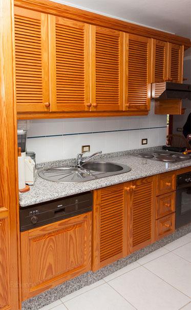 Küchenzeile Gäste-Apartment