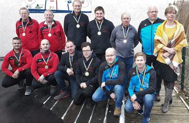 2. Platz: SV Waidhofen/Th., 1. Platz: Pölla Aktiv, 3. Platz: USV Lichtenau, GLV-Bezirksobfrau Regina Sinhuber