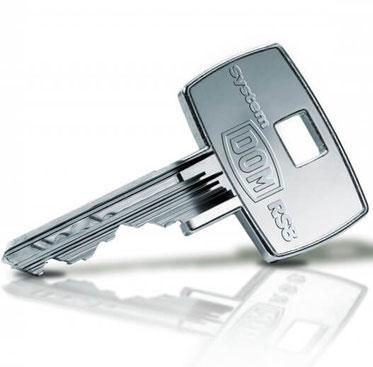 DOM RS 8 Schlüssel nachmachen