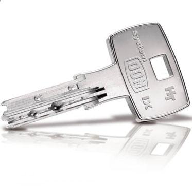 DOM ix HT Schlüssel nachmachen
