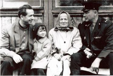 Алексей и Иван Драгуны с мамой