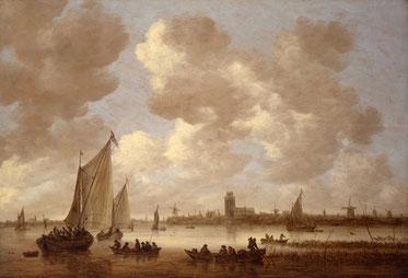 Gezicht op Dordrecht (collectie Dordrechts museum)