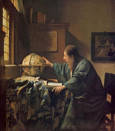 Знаменитые картины Яна Вермеера - Астроном