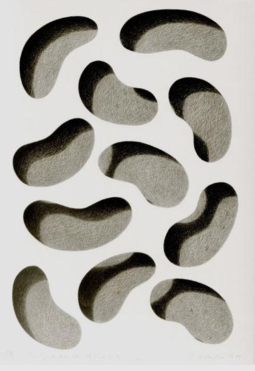Abstrakter Realismus, Zeichnungen, Beginn der 80er Jahre