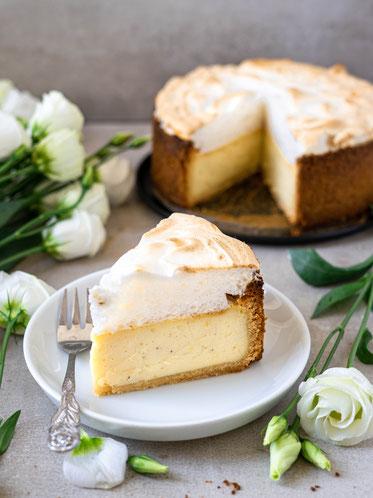 cake, cheesecake, vegan cheesecake, vegan, Käsekuchen, veganer Käsekuchen, Meringue, Baiser, Meringue Cake, Baiserhaube
