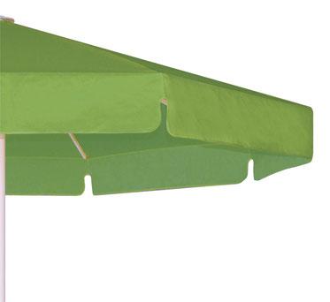 may FILIUS Sonnenschirm mit Volant grün