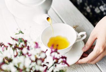 Tee-Zubereitung