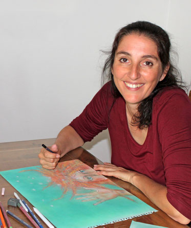 Andrea Benedetter-Herramhof, Autorin, Illustratorin, Verlegerin