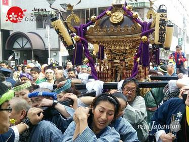 平田諏訪神社例大祭, 平成29年10月22日, 千葉県市川市