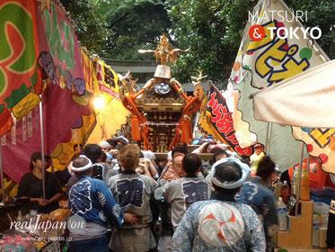 代々木八幡宮例大祭ⓒreal Japan on