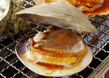 Grilled white clam, Sushi Bar Daiki, HibiyaOedoMatsuri
