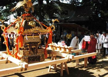 駒繋神社,世田谷,下馬,大祭,十年振り