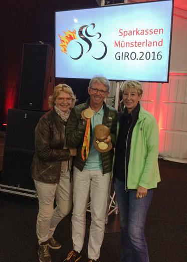 Ulrike, Hans-Peter, die zwei Goldmedaillen RIO 2016 und ich