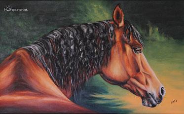 Arabergemälde, Acrylgemälde