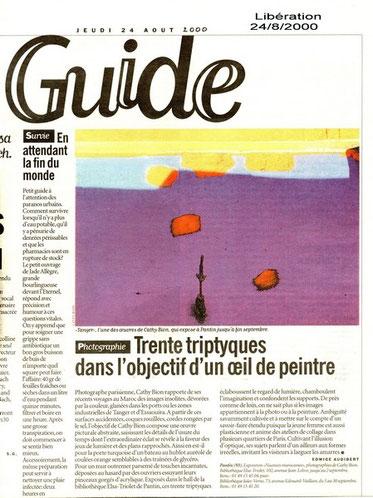 Libération - 24-08-2000