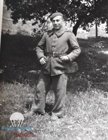 Fernand RICCO photo prise le 3 juin 1940 au Mont Agel.