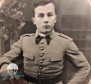 Fernand RICCO, en tenue du 157em RAP