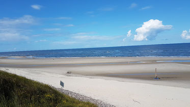 Wangerooge Strand, Ostfriesische Inseln, Nordsee, Nordseestrand