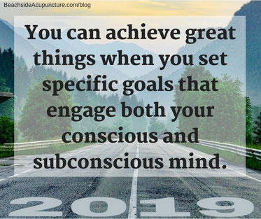 You can achieve great things when you set specific goals that engage both your conscious and subconscious mind.