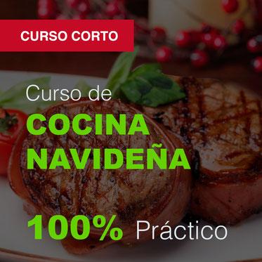 curso práctico de cocina navideña