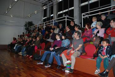 Le public à la conférence